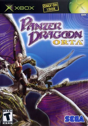 Cover for Panzer Dragoon Orta.