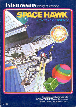 Cover for Space Hawk.