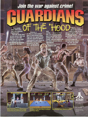 Cover for Guardians of the 'Hood.