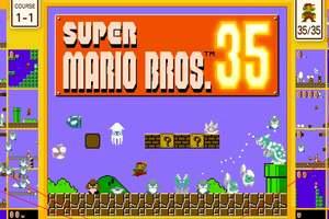 Cover for Super Mario Bros. 35.