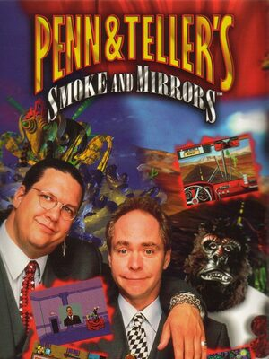 Cover for Penn & Teller's Smoke and Mirrors.
