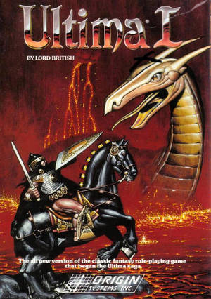 Cover for Ultima I: The First Age of Darkness.