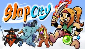 Cover for Slap City.