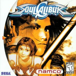 Cover for Soulcalibur.