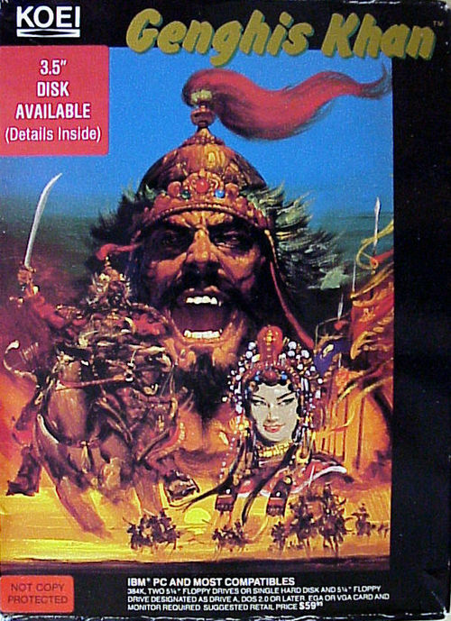 Cover for Genghis Khan.