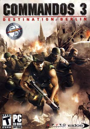 Cover for Commandos 3: Destination Berlin.