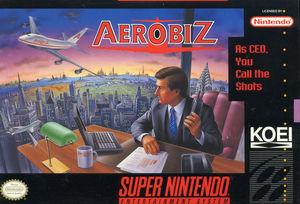 Cover for Aerobiz.