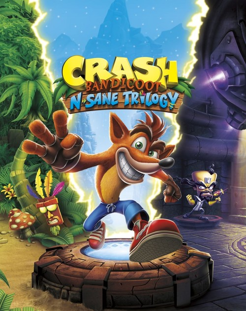 Cover for Crash Bandicoot N. Sane Trilogy.