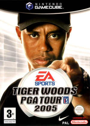 Cover for Tiger Woods PGA Tour 2005.