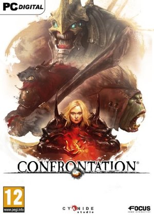 Cover for Confrontation.