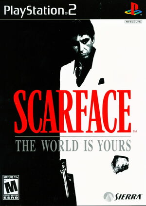 Cover for Scarface: The World Is Yours.