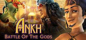 Cover for Ankh: Battle of the Gods.