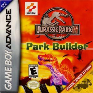 Cover for Jurassic Park III: Park Builder.