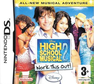 Cover for High School Musical 2: Work This Out!.