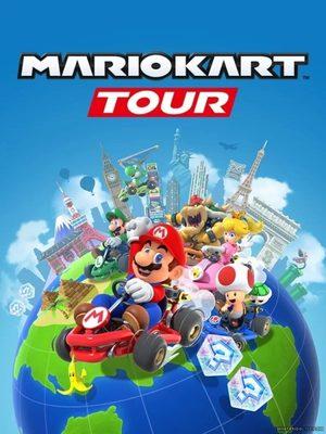 Cover for Mario Kart Tour.