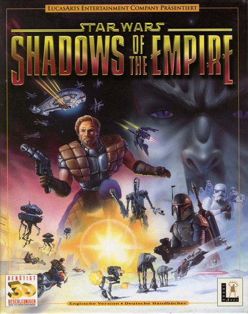 Cover for Star Wars: Shadows of the Empire.