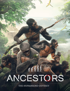Cover for Ancestors: The Humankind Odyssey.