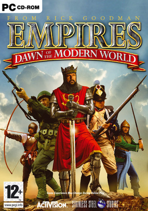 Cover for Empires: Dawn of the Modern World.