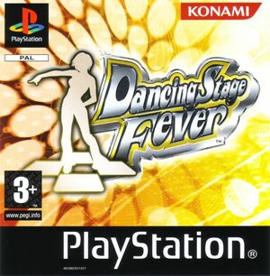 Cover for Dancing Stage Fever.
