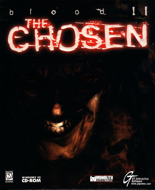 Cover for Blood II: The Chosen.