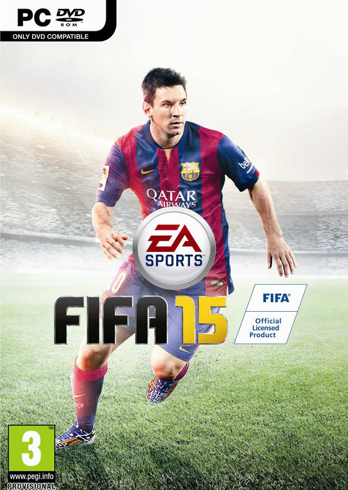 Cover for FIFA 15.