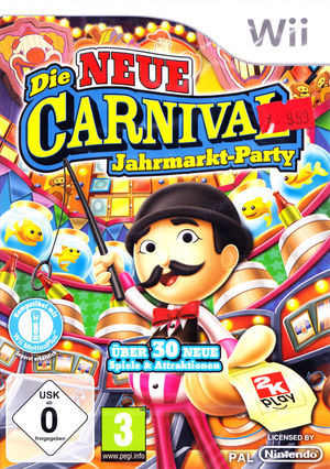 Cover for New Carnival Games.