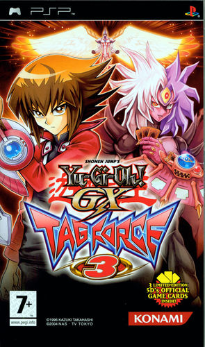 Cover for Yu-Gi-Oh! GX Tag Force 3.