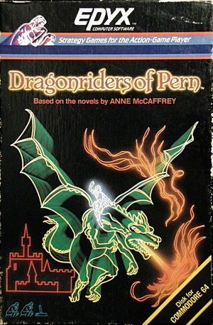 Cover for Dragonriders of Pern.