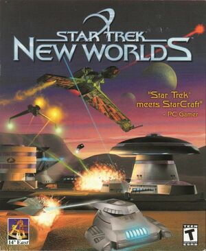 Cover for Star Trek: New Worlds.
