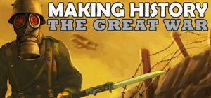 Cover for Making History: The Great War.