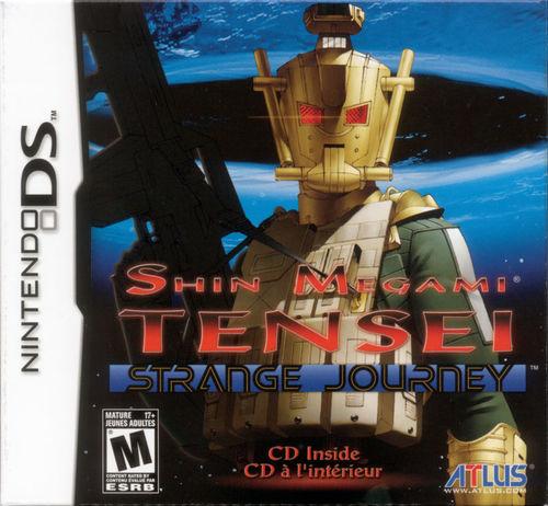 Cover for Shin Megami Tensei: Strange Journey.