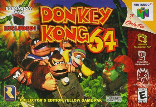 Cover for Donkey Kong 64.