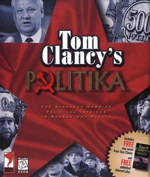 Cover for Tom Clancy's Politika.