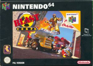 Cover for Blast Corps.