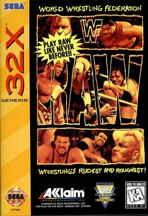 Cover for WWF Raw.