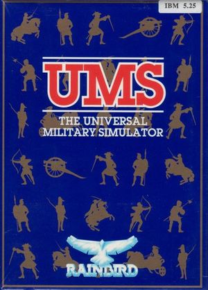 Cover for The Universal Military Simulator.