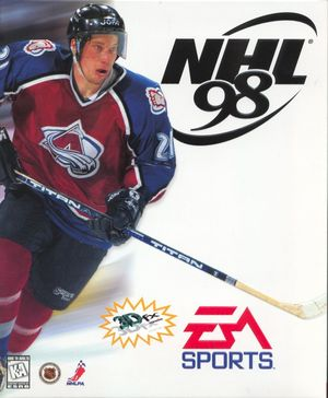 Cover for NHL 98.