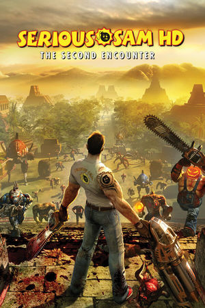 Cover for Serious Sam HD: The Second Encounter.