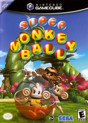Cover for Super Monkey Ball.