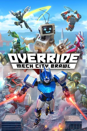 Cover for Override: Mech City Brawl.