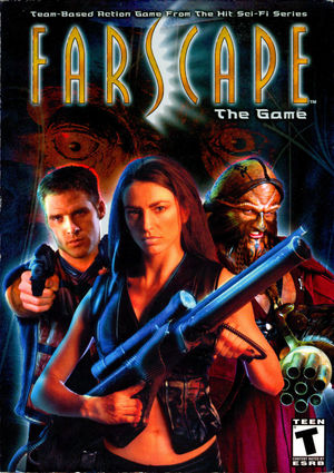Cover for Farscape: The Game.