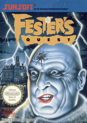 Cover for Fester's Quest.