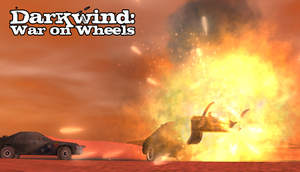 Cover for Darkwind: War on Wheels.
