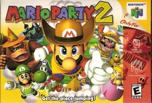Cover for Mario Party 2.