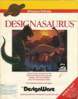 Cover for Designasaurus.