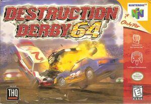 Cover for Destruction Derby 64.