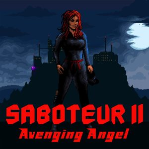 Cover for Saboteur II: Avenging Angel.