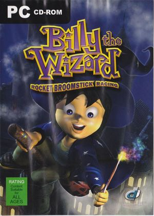Cover for Billy the Wizard: Rocket Broomstick Racing.