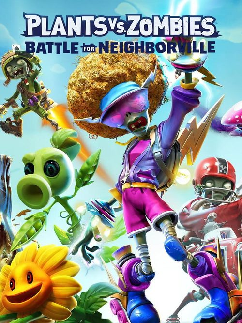 Cover for Plants vs. Zombies: Battle for Neighborville.