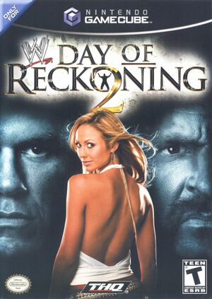 Cover for WWE Day of Reckoning 2.
